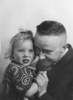 Reichsführer Heinrich Himmler with his daughter Gertrud