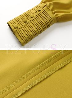 Solid Color O-Neck Pullover Blouse Neck Designs For Suits, Sleeves Designs For Dresses, Dress Neck Designs, Stylish Dress Designs, Sleeve Designs, Stylish Dresses, Blouse Designs, Kurti Sleeves Design, Kurta Neck Design