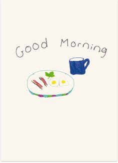 good morning card