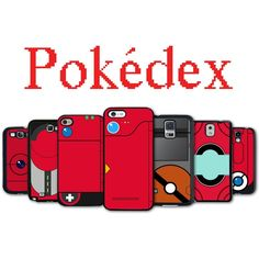 Pokedex Phone Case for iPhone 4 iPhone 5 Galaxy Edge Note 2 3 in Cell Phones & Accessories, Cell Phone Accessories, Cases, Covers & Skins Pokemon, Lg G3, Take My Money, Galaxy S3, Tech Gadgets, Iphone Phone Cases, Cell Phone Accessories, Geek Stuff, Notes