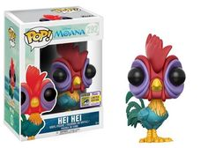 Funko pop. Dissent. Moana. Hei Hei. Rooster.