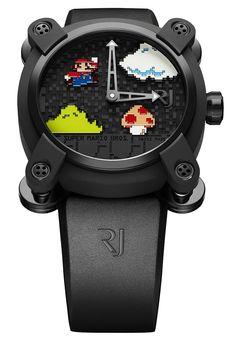 La prestigiosa firma relojera suiza Romain Jerome ha creado un reloj diseñado expresamente para los amantes de Nintendo y los fans absolutos de Ma...
