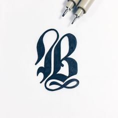 A bold letter B by christophercraig_