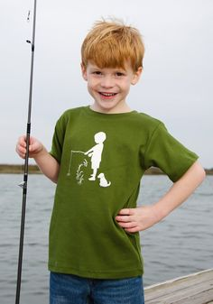 Ahhh...summer is just around the corner! Fisherman Nostalgic Graphic Tee Shirt in Short Sleeves, $20.00