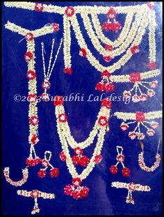 Floral Jewellery Set - Roses and Dodi