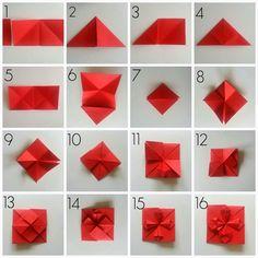 ROSA MERLIZA: CRAFT: Diy Cuore Origami