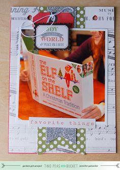 In-site-full: 2Peas December Daily Album: Elf on the Shelf Album with Video