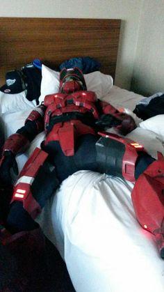 Wake Me, When You Need Me - Halo Cosplay