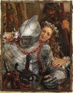 """Adolf von Menzel (1815-1905) """"Blindekuh"""" by Art & Vintage, via Flickr"""