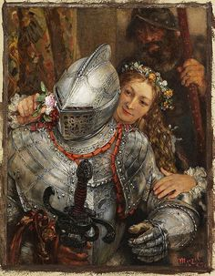 "Adolf von Menzel (1815-1905) ""Blindekuh"" by Art & Vintage, via Flickr"