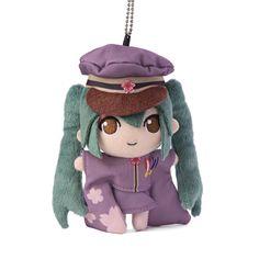 Vocaloid Hatsune Miku Senbonzakura 5.5in Plush Toy #Taito
