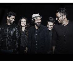 Farhan Akhtar, Shraddha Kapoor, Arjun Rampal Rock On 2 #Fashion #Style #Bollywood #India #ArjunRampal #ShraddhaKapoor #FarhanAkhtar #Sexy