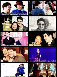 Darren + his mom
