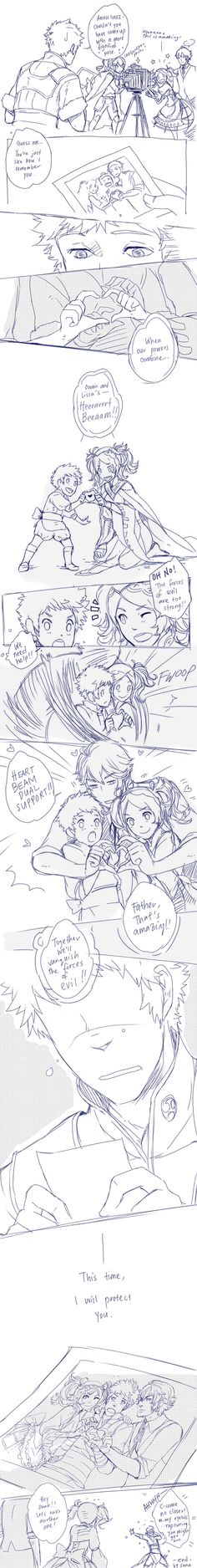 Owain's Family by alexiusSana | Photobucket...., but Lon'qu would be the not Fredrick
