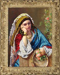 Девушка в платке 40415