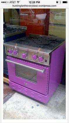 Pink/Purple stove
