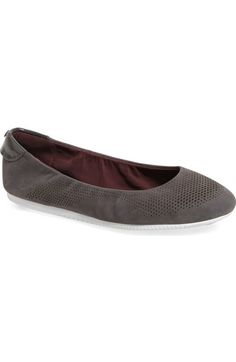 Cole Haan '2.0 StudiøGrand' Packable Ballet Flat (Women) available at #Nordstrom