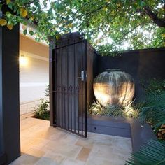 Nedlands Tropical Garden – Cultivart Landscape Design Source by nickgardenguy Small Courtyard Gardens, Small Courtyards, House With Courtyard, Outdoor Areas, Outdoor Rooms, Outdoor Decor, Modern Landscaping, Backyard Landscaping, Landscaping Ideas