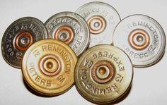 Shot Gun shell buttons... and other art! lol