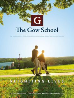 The Gow School viewbook by Turnaround Marketing Communications.