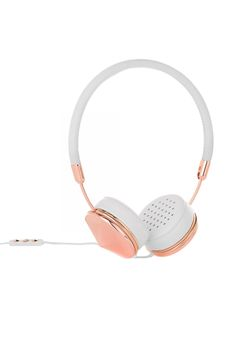 Adele's latest album will sound even more heartbreaking with these on. Can you say love? FRENDS Layla Rose Gold Headphones, $112.45; wearefrends.com.   - MarieClaire.com