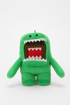Domo AND a dinosaur! 2-for-1!    =))))))))))