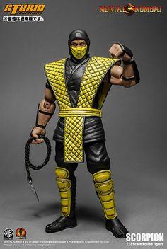 AmiAmi [Character & Hobby Shop] | Mortal Kombat 1/12 Action Figure VS Series: Klassic Scorpion(Provisional Pre-order)