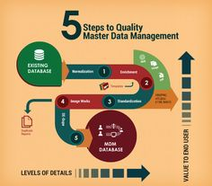 5 Steps to Quality Master Data Management.  http://www.unilogcorp.com/