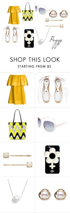 """""""Peggy Schuyler Modern Day Aes"""" by mstheatergirl ❤ liked on Polyvore featuring Apiece Apart, LC Lauren Conrad, Valfré, Chan Luu, Trilogy and modern"""