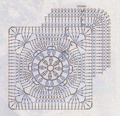 Tecendo Artes em Crochet: Uma Manta Muito Linda (Fácil) para Vocês Fazerem!