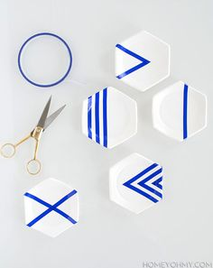 Taped designs