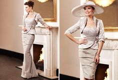 Ian Stuart ISL405 Mother of the Bride MOB by Baroque Boutique Abergavenny Monmouthshire