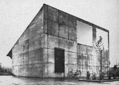 SIGURD LEWERENTZ - BLUMENKIOSK OSTFRIEDHOF, MALMÖ 1969