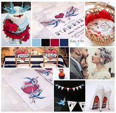 Tattoo themed moodboard tattoo themed wedding swallow tattoos tattoo pattern wedding invites Invites, Wedding Invitations, Swallow Tattoo, Mood Boards, Tatting, Playing Cards, Pattern, Tattoo Swallow, Bobbin Lace