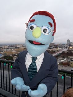 Rod by PJs Puppets - Avenue Q -- custom professional puppets