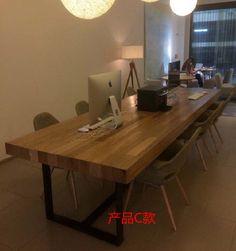 Loft-país-da-américa-para-fazer-o-velho-retro-madeira-madeira-mesa-pequena-sala-de-jantar.jpg (750×800)