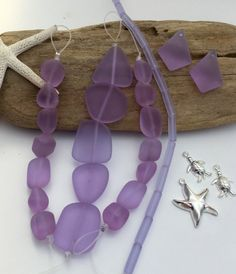 Our Jacob collection in Tropical Periwinkle purple one of our top sellers. This collection is so you can shop with ease in our Jacob line by color.  Mixed sea glass bead pendant, Charms. Really nice new Periwinkle purple color mix.  Sea glass beads, seaglass rectangle dangle, ,sea glass earrings, Periwinkle beach glass, sea glass jewelry supply, supplies, earrings.  WILL NOT be restocked, grab them while you can. Special mix. Easy DIY with colors coordinated to match.  Great variety mixed…