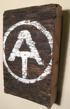 Appalachian Trail (AT) Sign Hanging Decor, Wood -- Great gift for the outdoorsman in your family!