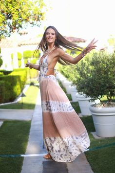 Parisienne: BOHEMIAN MAXI DRESS