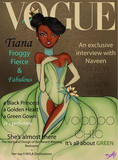 Vogue Disney Darlings - Tiana (Repainted)