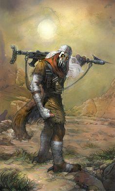 Grievous, Kaleesh Warlord by Terese Nielsen