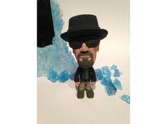 Bad Wally full color 3D Printed Breaking Bad inspired figurines. #shapeways #breakingbad #Sculptures  #Memes, #Blue #Magic #blue #meth #Heisenberg #Meth #Wally #Walt #Walter #Walter #White #WW