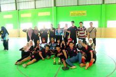 Juara 1 Futsal Putra & Juara 1 Futsal Putri Se-Jurusan Pendidikan Akuntansi