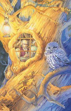 Victorian Fairy Tarot Hermit