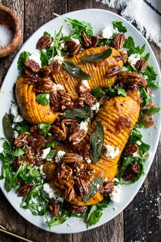 Side Dish Recipes, Veggie Recipes, Fall Recipes, Side Dishes, Dinner Dishes, Holiday Recipes, Main Dishes, Roasted Squash, Roasted Butternut