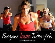Turbo!!! Turbofire, Turbo Jam, Turbo Kick-Turbo GIRLS!!