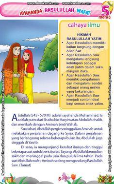 baca buku online 52 kisah Terbaik Nabi Muhammad penuh hikmah teladan7 Apa Saja Hikmah Rasulullah Menjadi Yatim