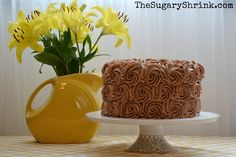 The Sugary Shrink: Delicious German Chocolate Cake
