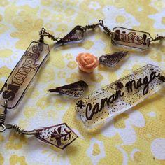 Nuevos y más dijes en Cananmaga www.facebook.com/cananmaga  #shrinkFilm  jewelry #handmade