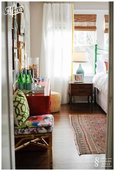Gebhardt Guest Room/Office - A Storied Style Guest Room Office, Room Inspiration, Interior Design, Home, Guest Room, Bedroom Inspirations, Home Bedroom, Home Decor, Room